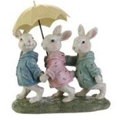 Bunnies with Umbrella Thumbnail