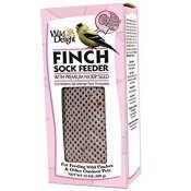 Wild Delight Pink Finch Sock Feeder Thumbnail