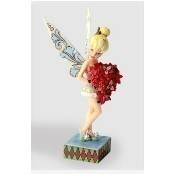 Tinker Bell with Poinsettia Figurine Thumbnail