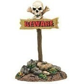 Beware the Boneyard Sign Thumbnail