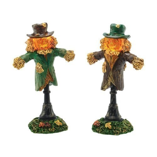 Lit Scarecrow Lamps, Set of 2 Thumbnail