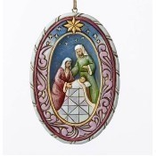 Holy Family Nativity Ornament Thumbnail