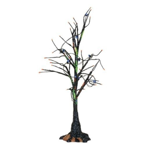 Black Light Bare Branch Tree Thumbnail