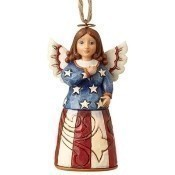 Mini Patriotic Angel Ornament Thumbnail