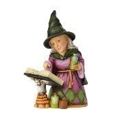 Jim Shore - Mini Witch with Spell Book Thumbnail