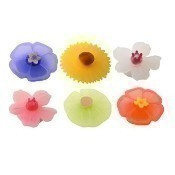 Floral Drink Markers - Set of 6 Thumbnail