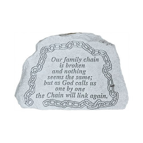 Our Family Chain Broken Memorial Stone Thumbnail