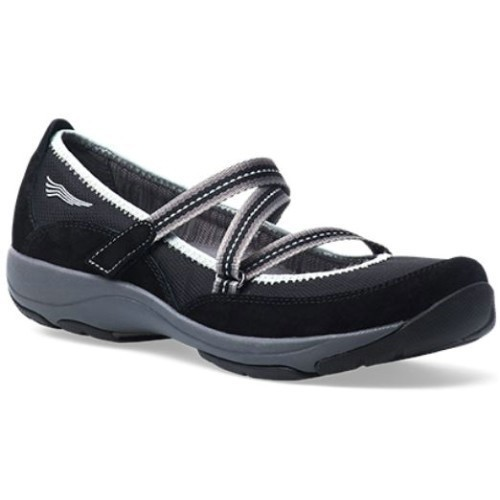 Dansko - Hazel Shoes - Black Suede Thumbnail