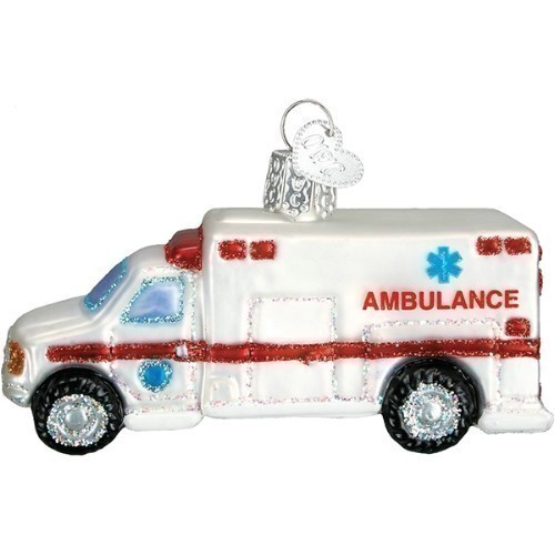 Ambulance Ornament  Thumbnail