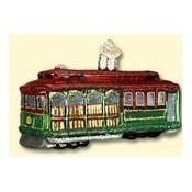 Cable Car Ornament Thumbnail