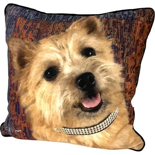 Cairn Terrier Pillow Thumbnail