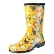 Chicken Daffodil Yellow Rain Boots Thumbnail