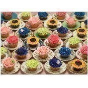 Cupcakes and Saucers Puzzle Thumbnail