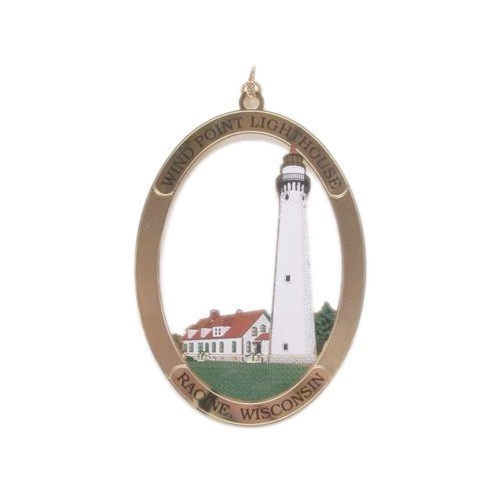 Wind Point Lighthouse Ornament Thumbnail