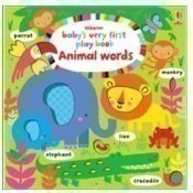 Baby's Very First Playbook Animal Words Thumbnail