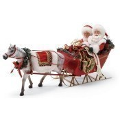 One Horse Open Sleigh Figurine Thumbnail