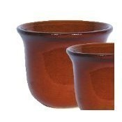 Golden Umber Flora Planter - 14.75
