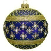 Thomas Glenn - Coronation Ornament - Blue Thumbnail