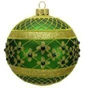 Thomas Glenn - Coronation Ornament/Dark Green Thumbnail