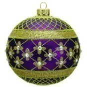 Thomas Glenn - Coronation Ornament - Purple Thumbnail