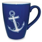 Etched Anchor Mug Thumbnail