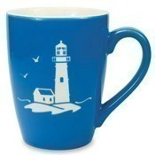 Etched Lighthouse Mug Thumbnail