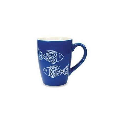 Etched Fish Mug Thumbnail