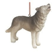 Timber Wolf Ornament Thumbnail