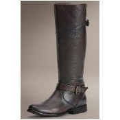 Frye - Phillip Riding Boots - Dark Brown Thumbnail