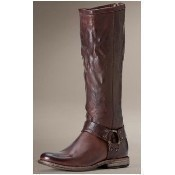 Frye - Phillip Harness Boots - Dark Brown Thumbnail