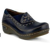Burbank Shoes - Navy Leather Thumbnail