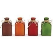 Fall Square Bottle Shape Vase Thumbnail