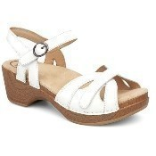 Dansko - Season - White Full Grain Leather Thumbnail