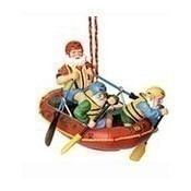 Rafting Santa Ornament Thumbnail