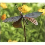 Flamed Butterfly Garden Stake Thumbnail