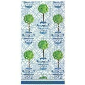 Blue Topiary Guest Towels Thumbnail