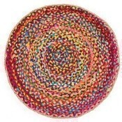 Chindi Blend Rug Circle Thumbnail