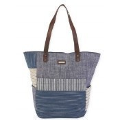 Denim Beach Bound Canvas Tote Thumbnail