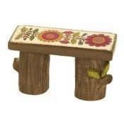Mini Wood Bench Thumbnail