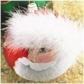 Christina's World - Red Santa With Fur Cap Thumbnail