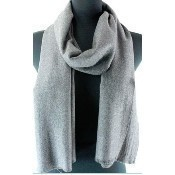 Allure Scarf - Grey Thumbnail