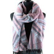 The Avenue Scarf - Pink Thumbnail