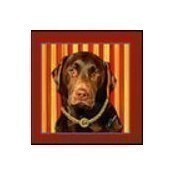 Chocolate Lab Mini Pillow Thumbnail