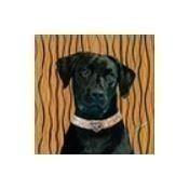 Black Lab Mini Pillow Thumbnail