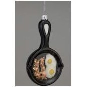 Noble Gems Glass Frying Pan Ornament Thumbnail