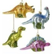 Noble Gem Glass Dinosaur Ornament Thumbnail