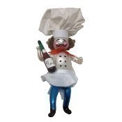De Carlini - Chef With Bottle of Wine Thumbnail