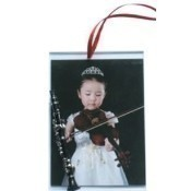 Clarinet Picture Frame Ornament Thumbnail
