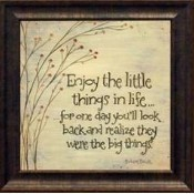 Enjoy the Little Things Picture Thumbnail
