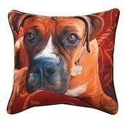 Harry Boxer Pillow Thumbnail